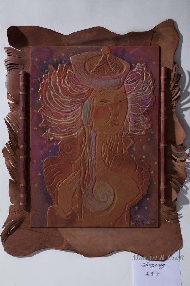 【美图】蒙古国皮画家艺术家吉雅图作品欣赏 第20张 【美图】蒙古国皮画家艺术家吉雅图作品欣赏 蒙古画廊