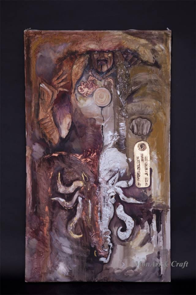 【美图】蒙古国皮画家艺术家吉雅图作品欣赏 第32张 【美图】蒙古国皮画家艺术家吉雅图作品欣赏 蒙古画廊