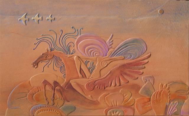 【美图】蒙古国皮画家艺术家吉雅图作品欣赏 第36张 【美图】蒙古国皮画家艺术家吉雅图作品欣赏 蒙古画廊