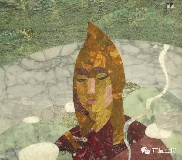 刚在蒙古办展览的布里亚特艺术家尤里作品欣赏 第4张