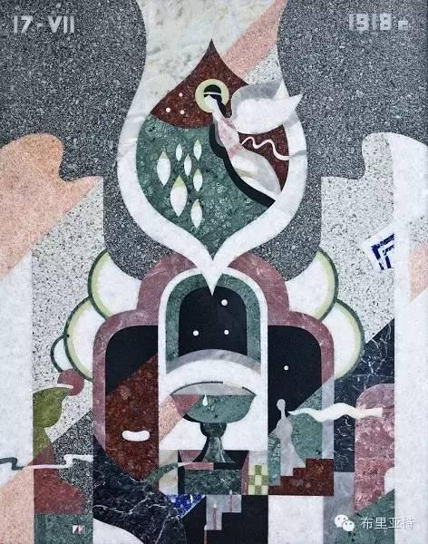 刚在蒙古办展览的布里亚特艺术家尤里作品欣赏 第8张