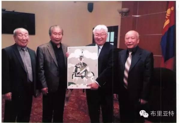 刚在蒙古办展览的布里亚特艺术家尤里作品欣赏 第19张