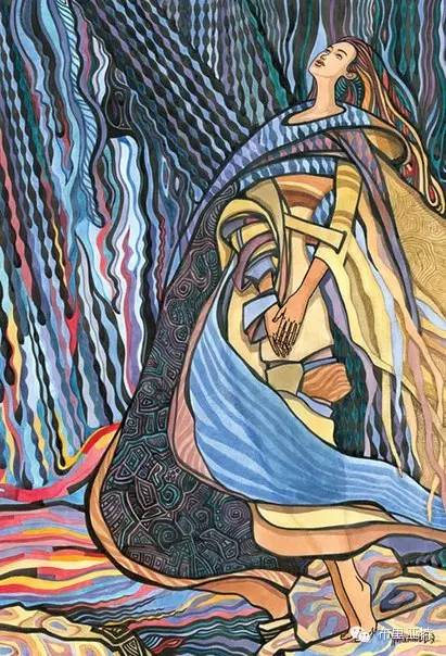 【阿努美图】插画大师乌日巴哈那夫经典作品欣赏 第8张