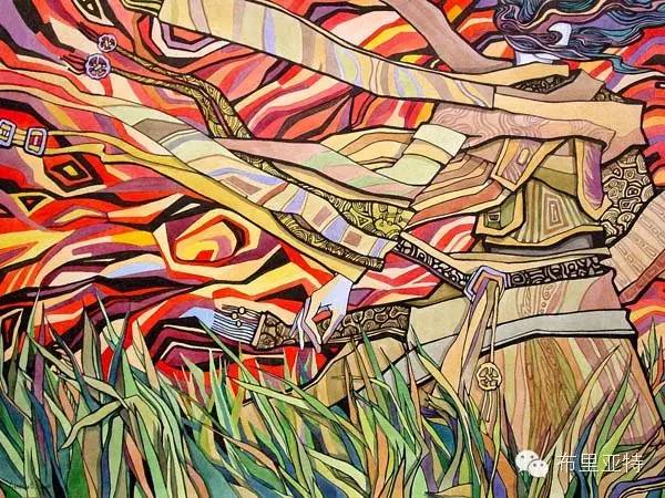 【阿努美图】插画大师乌日巴哈那夫经典作品欣赏 第10张