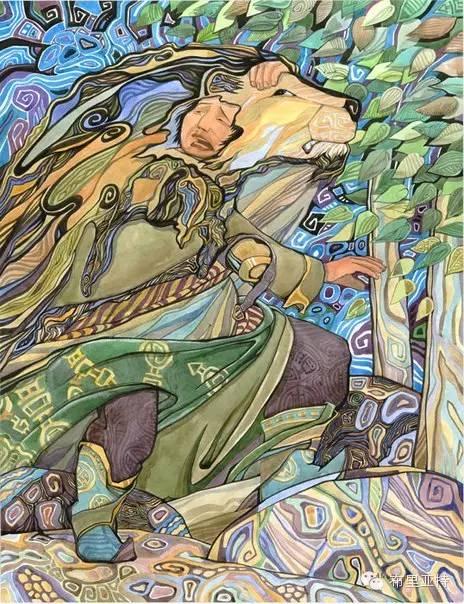 【阿努美图】插画大师乌日巴哈那夫经典作品欣赏 第13张