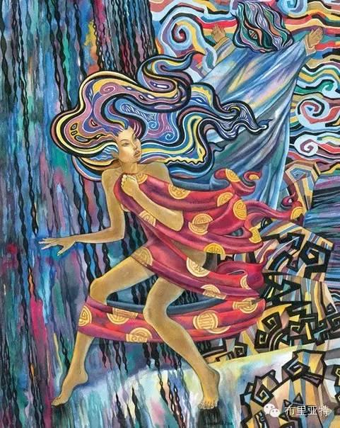 【阿努美图】插画大师乌日巴哈那夫经典作品欣赏 第15张