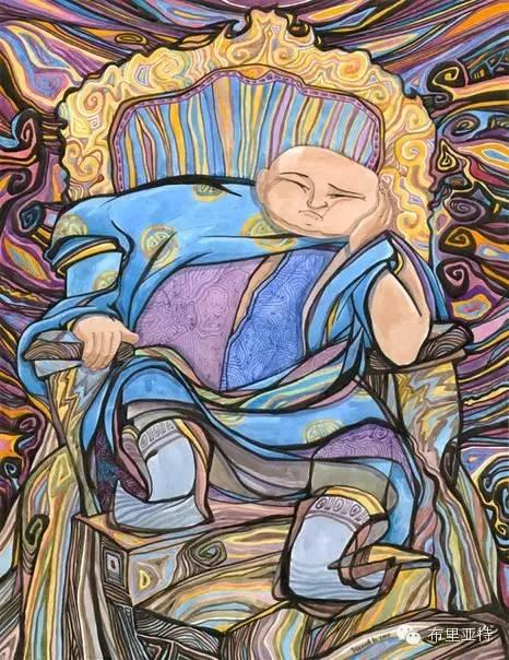 【阿努美图】插画大师乌日巴哈那夫经典作品欣赏 第16张