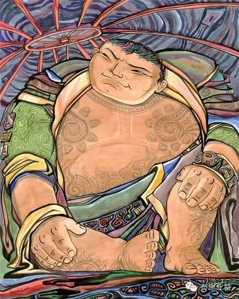 【阿努美图】插画大师乌日巴哈那夫经典作品欣赏 第19张