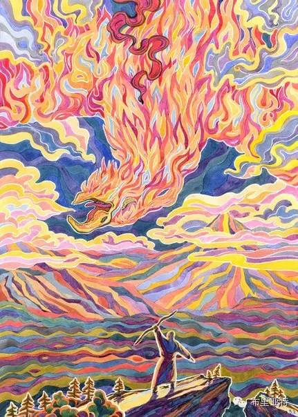 【阿努美图】插画大师乌日巴哈那夫经典作品欣赏 第23张