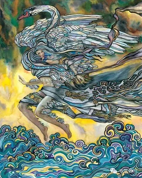 【阿努美图】插画大师乌日巴哈那夫经典作品欣赏 第25张