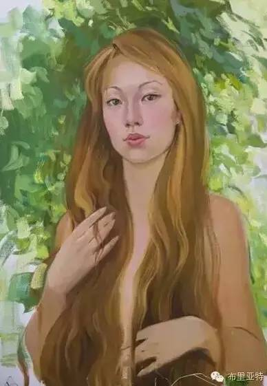 【ANU美图】卡尔梅克画家莫日根油画欣赏 第5张 【ANU美图】卡尔梅克画家莫日根油画欣赏 蒙古画廊