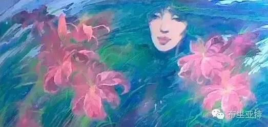 【ANU美图】卡尔梅克画家莫日根油画欣赏 第8张 【ANU美图】卡尔梅克画家莫日根油画欣赏 蒙古画廊