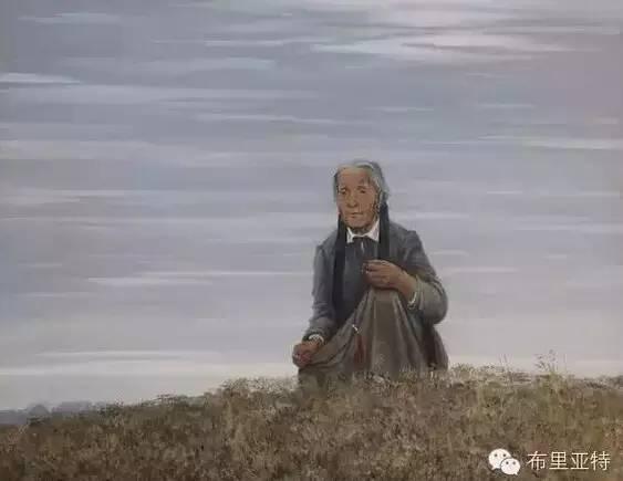 【ANU美图】卡尔梅克画家莫日根油画欣赏 第6张 【ANU美图】卡尔梅克画家莫日根油画欣赏 蒙古画廊