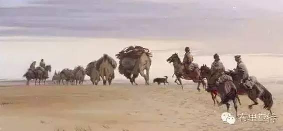 【ANU美图】卡尔梅克画家莫日根油画欣赏 第10张 【ANU美图】卡尔梅克画家莫日根油画欣赏 蒙古画廊