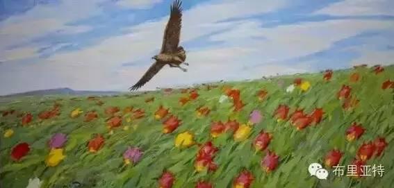 【ANU美图】卡尔梅克画家莫日根油画欣赏 第14张 【ANU美图】卡尔梅克画家莫日根油画欣赏 蒙古画廊
