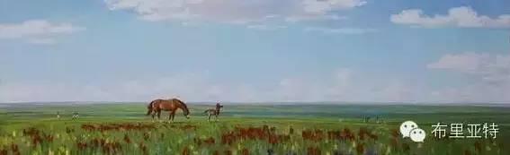 【ANU美图】卡尔梅克画家莫日根油画欣赏 第11张 【ANU美图】卡尔梅克画家莫日根油画欣赏 蒙古画廊