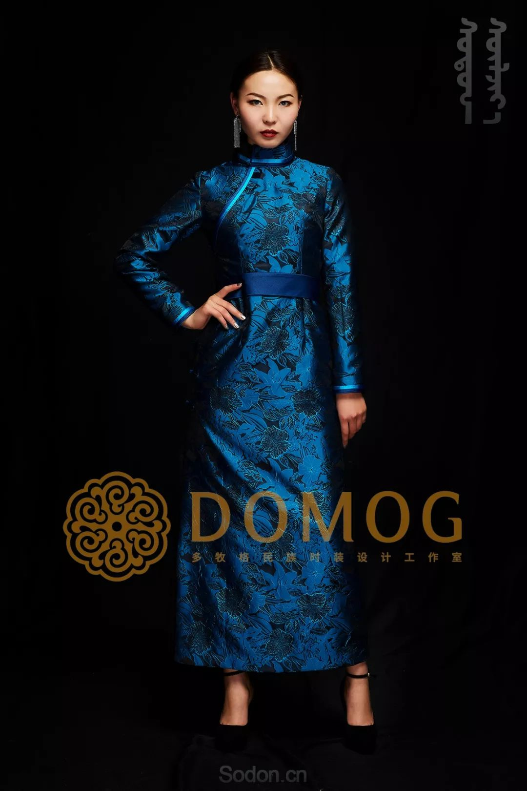 DOMOG蒙古时装绝美秋冬款系列,美出新高度! 第4张