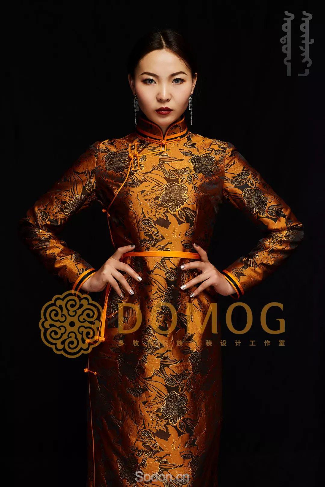 DOMOG蒙古时装绝美秋冬款系列,美出新高度! 第5张