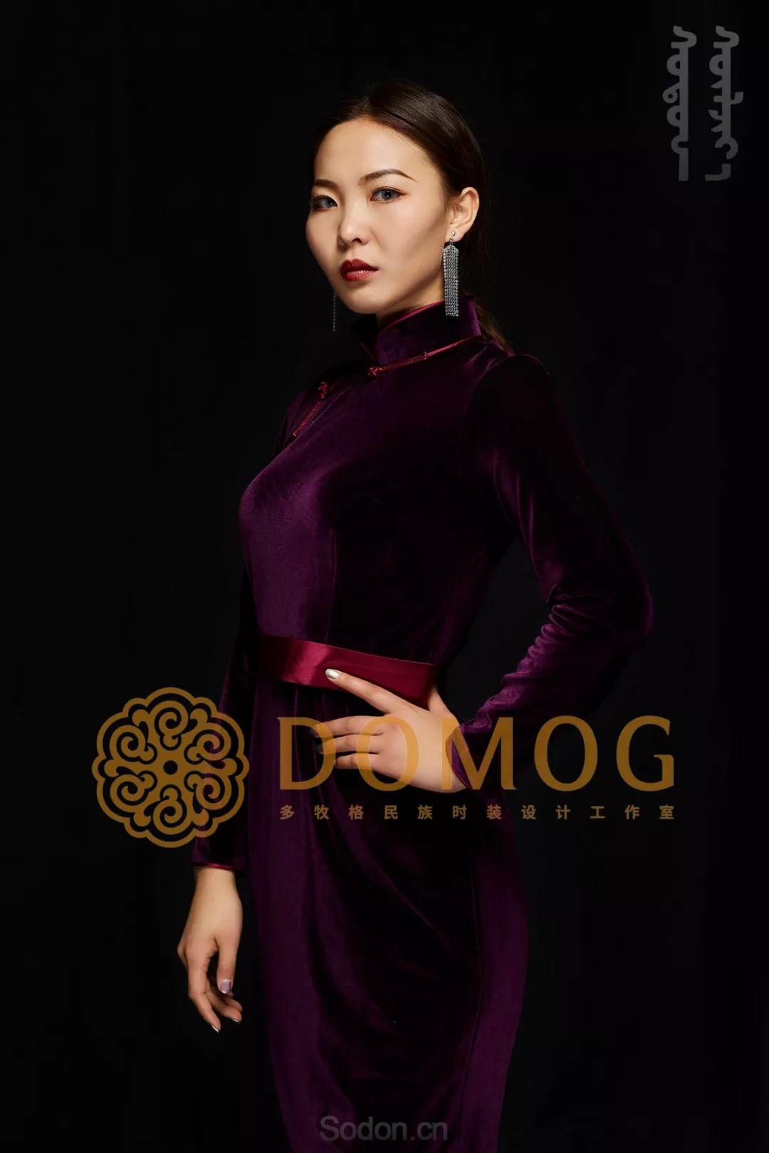 DOMOG蒙古时装绝美秋冬款系列,美出新高度! 第9张