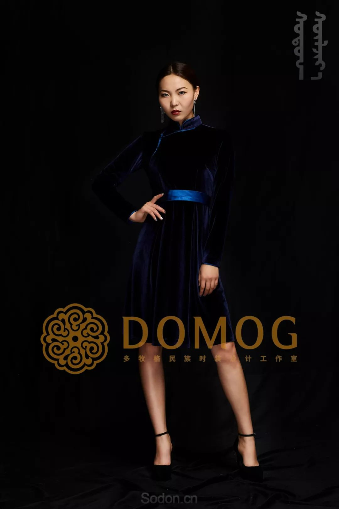 DOMOG蒙古时装绝美秋冬款系列,美出新高度! 第12张