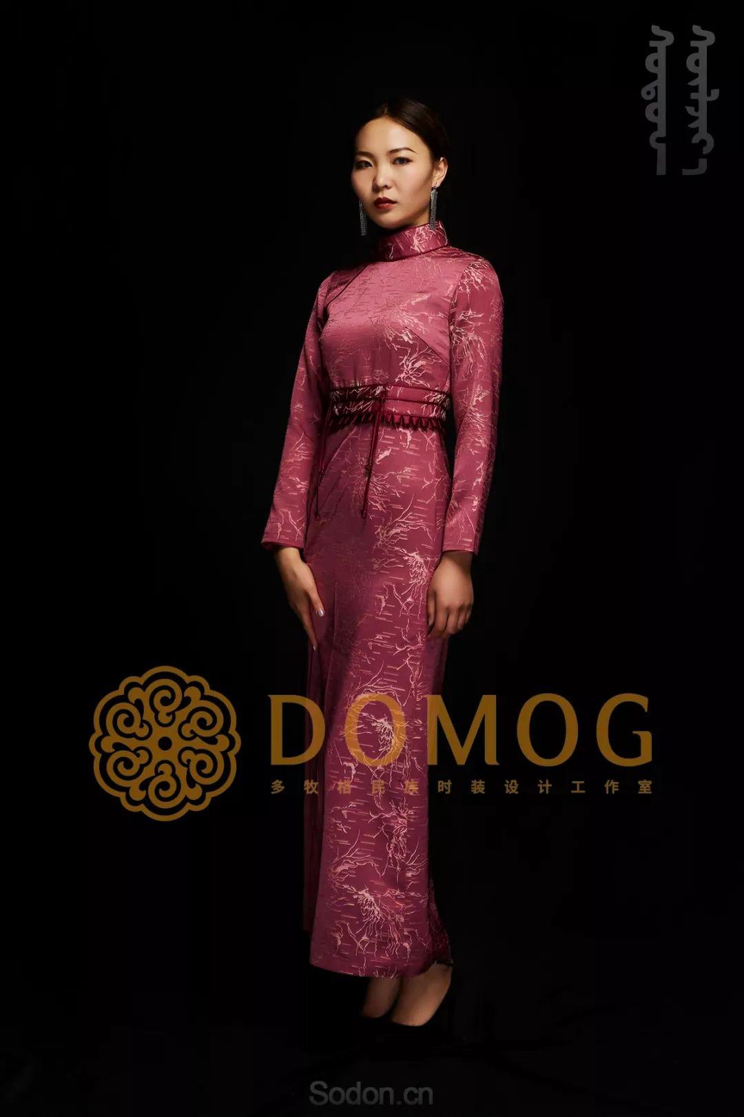 DOMOG蒙古时装绝美秋冬款系列,美出新高度! 第16张