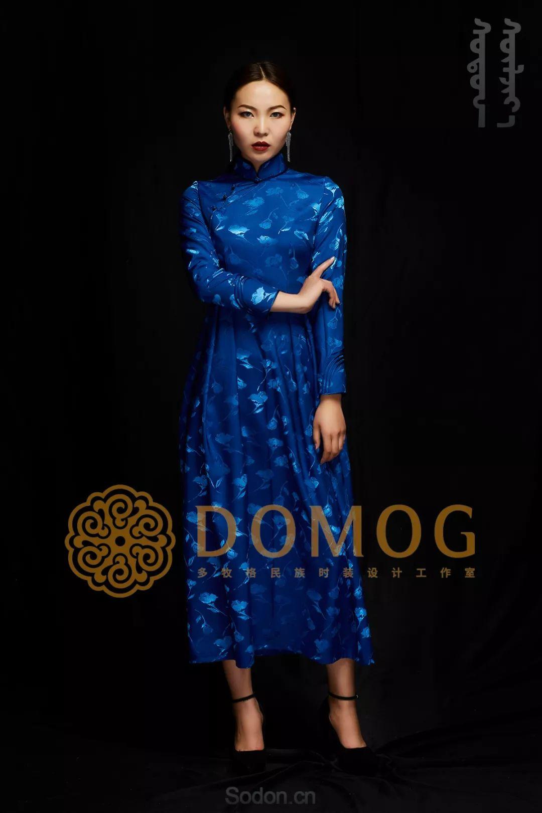 DOMOG蒙古时装绝美秋冬款系列,美出新高度! 第24张