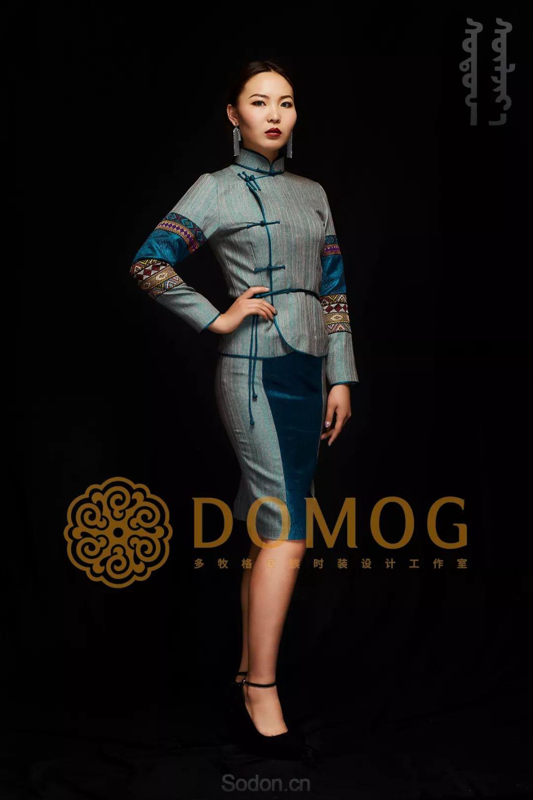 DOMOG蒙古时装绝美秋冬款系列,美出新高度! 第30张