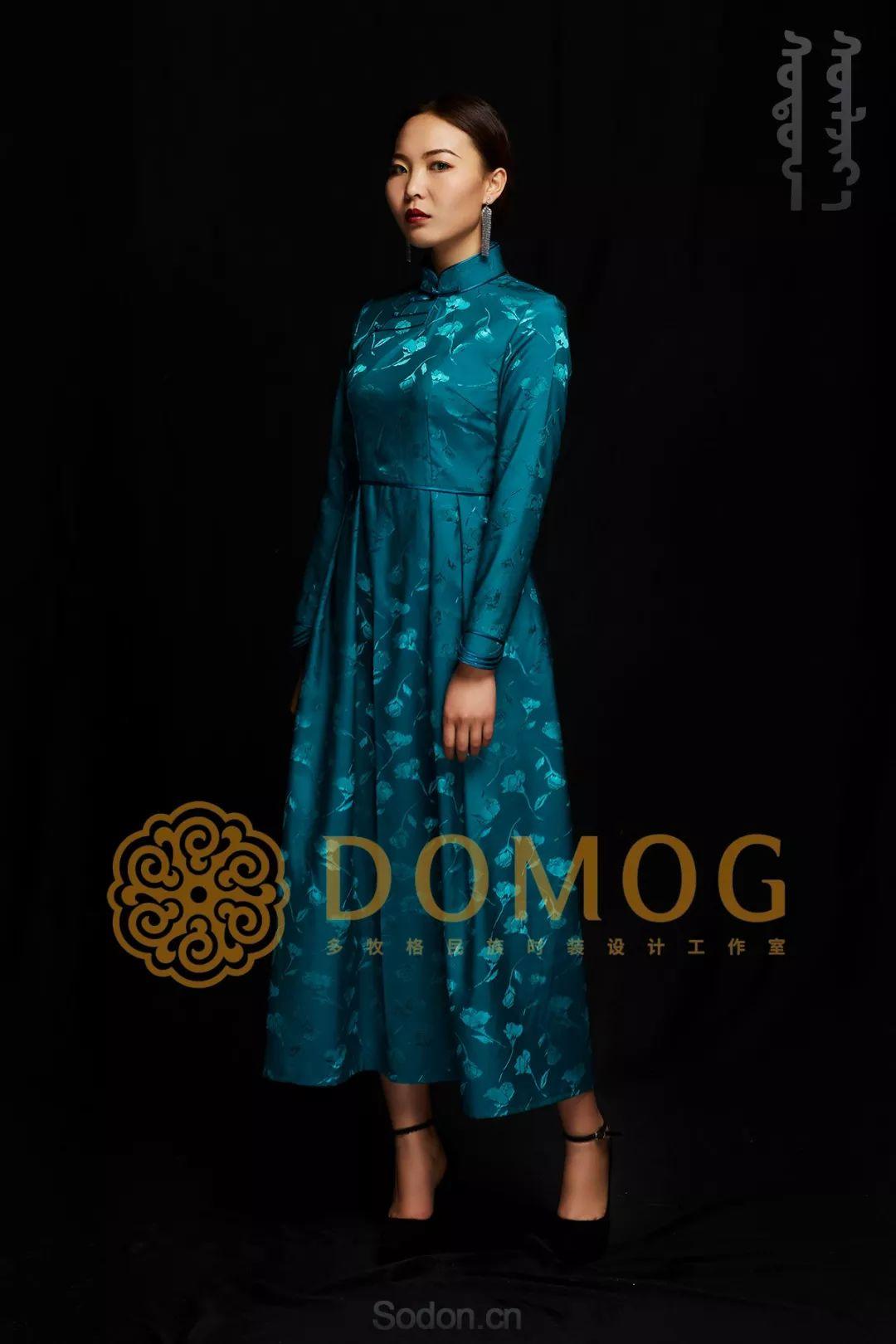 DOMOG蒙古时装绝美秋冬款系列,美出新高度! 第28张