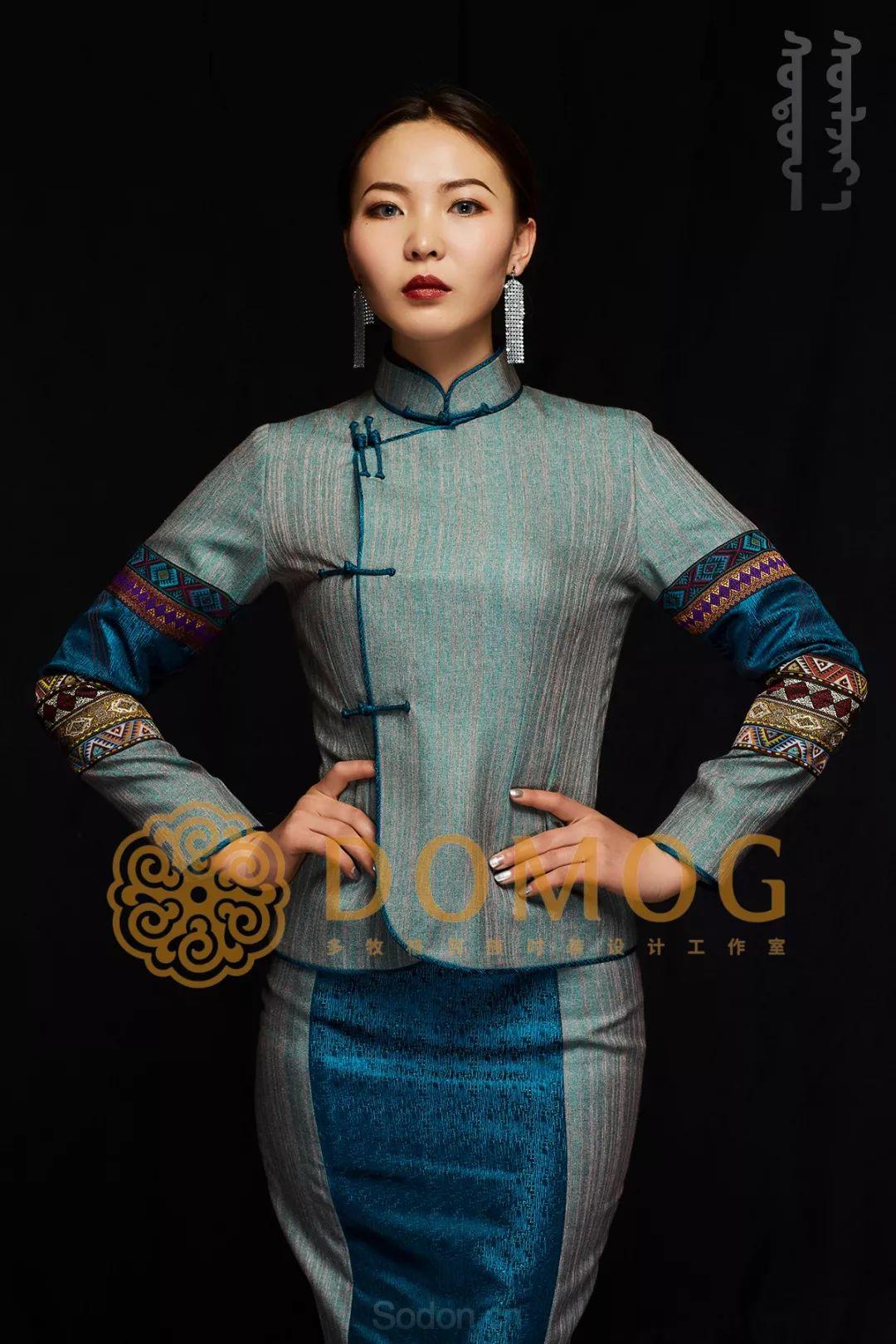 DOMOG蒙古时装绝美秋冬款系列,美出新高度! 第29张