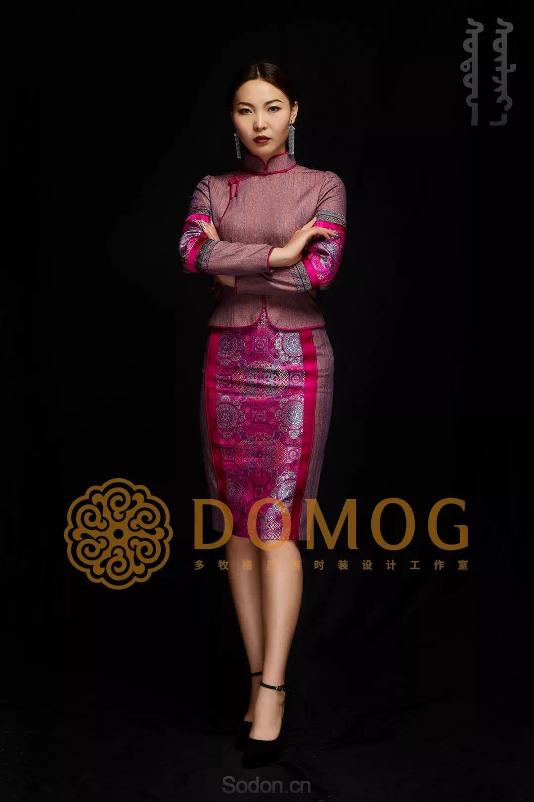 DOMOG蒙古时装绝美秋冬款系列,美出新高度! 第32张