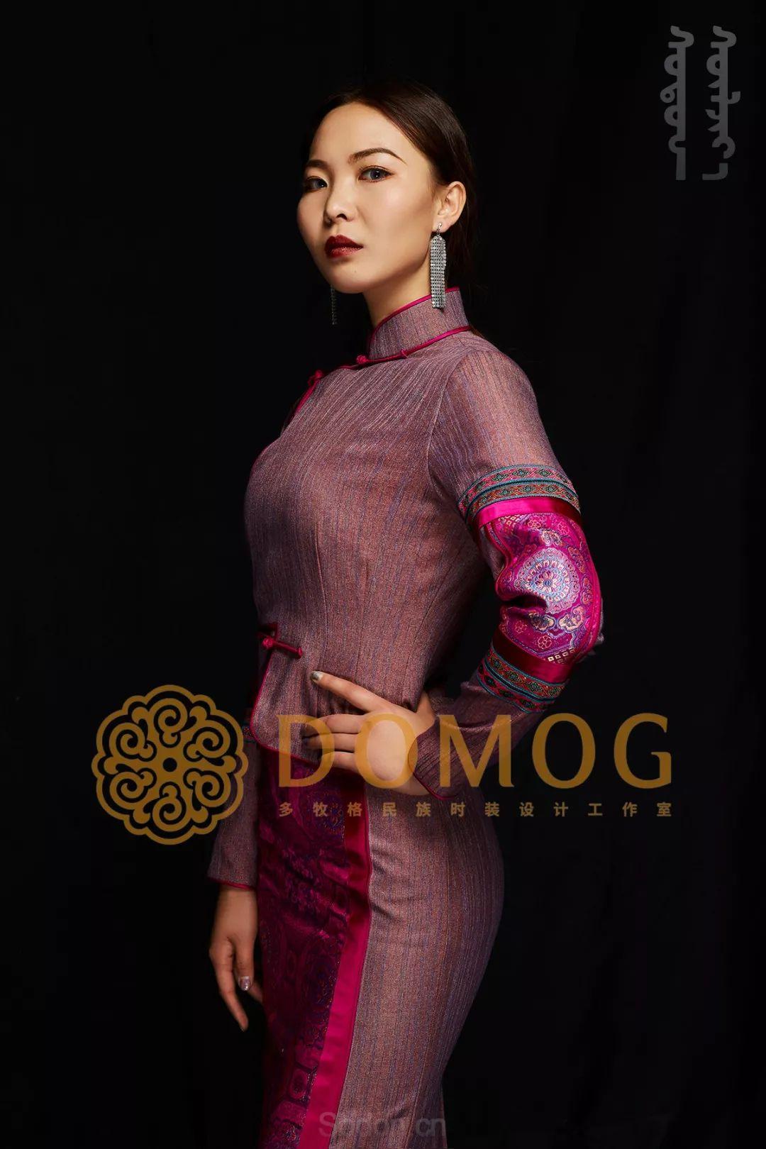 DOMOG蒙古时装绝美秋冬款系列,美出新高度! 第31张