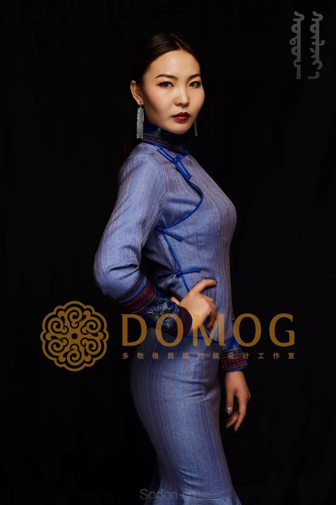 DOMOG蒙古时装绝美秋冬款系列,美出新高度! 第33张