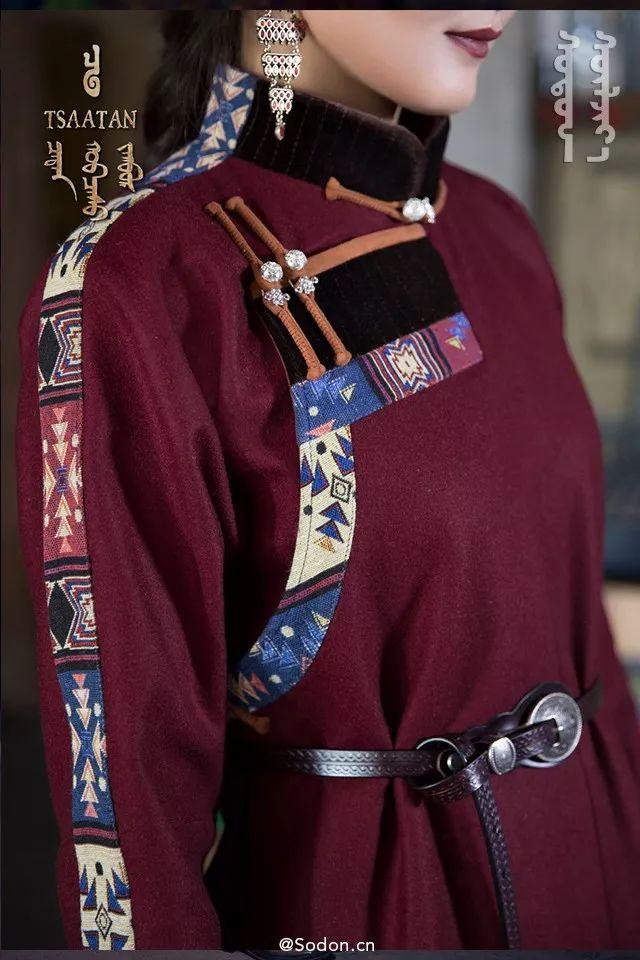 TSAATAN蒙古时装秋冬系列,来自驯鹿人的独特魅力! 第6张 TSAATAN蒙古时装秋冬系列,来自驯鹿人的独特魅力! 蒙古服饰