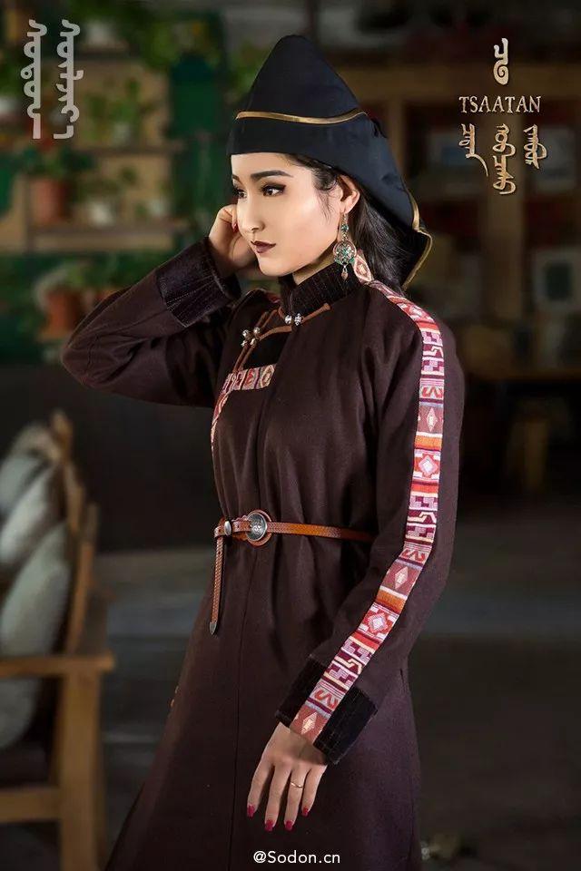 TSAATAN蒙古时装秋冬系列,来自驯鹿人的独特魅力! 第14张 TSAATAN蒙古时装秋冬系列,来自驯鹿人的独特魅力! 蒙古服饰