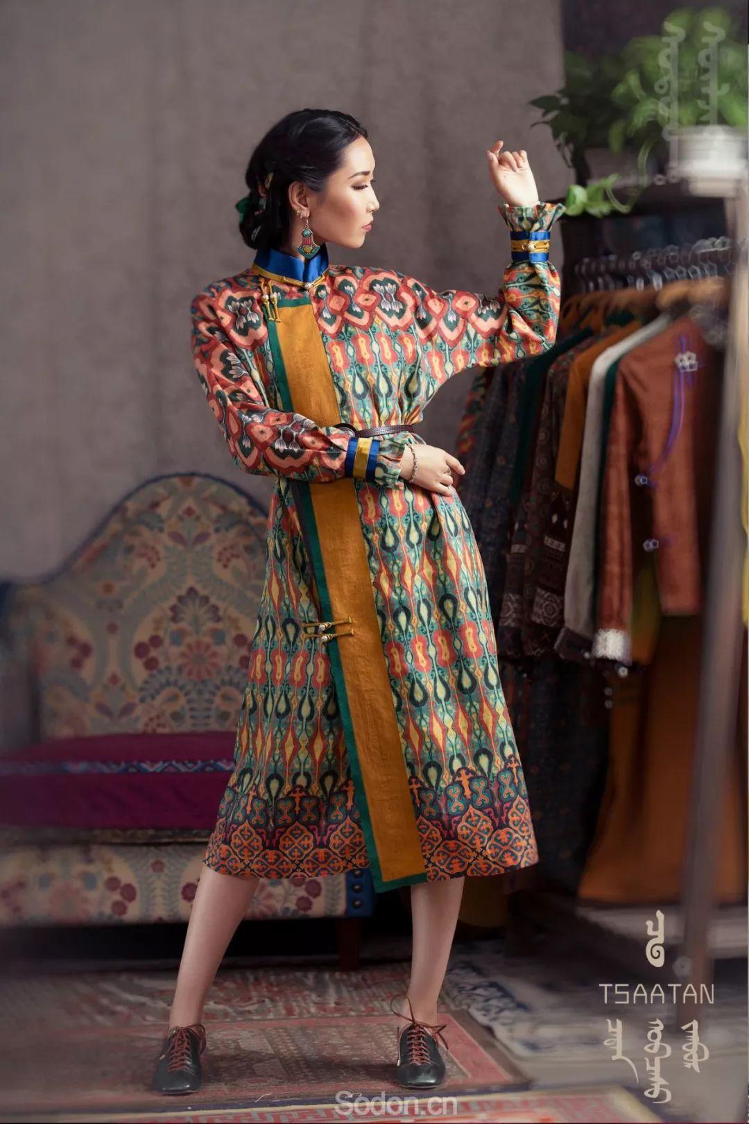 TSAATAN蒙古时装秋冬系列,来自驯鹿人的独特魅力! 第30张 TSAATAN蒙古时装秋冬系列,来自驯鹿人的独特魅力! 蒙古服饰
