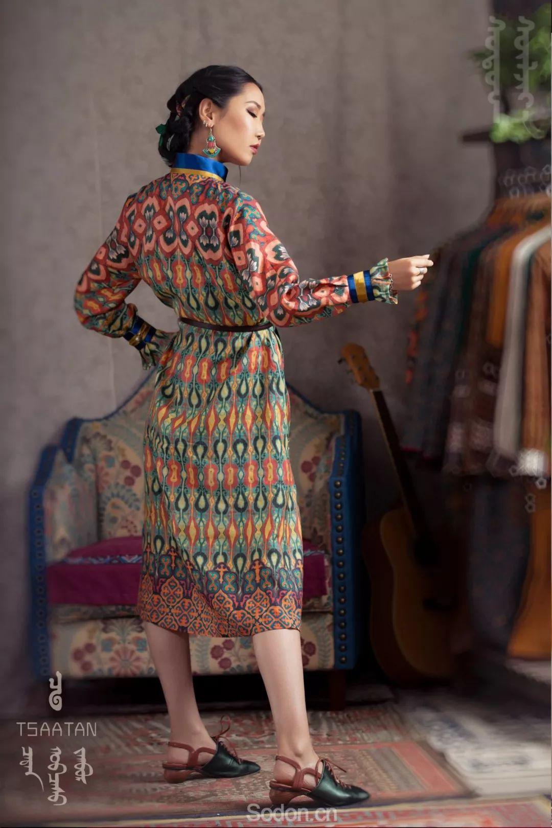 TSAATAN蒙古时装秋冬系列,来自驯鹿人的独特魅力! 第31张 TSAATAN蒙古时装秋冬系列,来自驯鹿人的独特魅力! 蒙古服饰