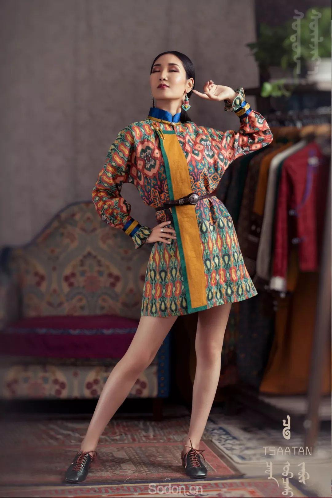 TSAATAN蒙古时装秋冬系列,来自驯鹿人的独特魅力! 第34张 TSAATAN蒙古时装秋冬系列,来自驯鹿人的独特魅力! 蒙古服饰