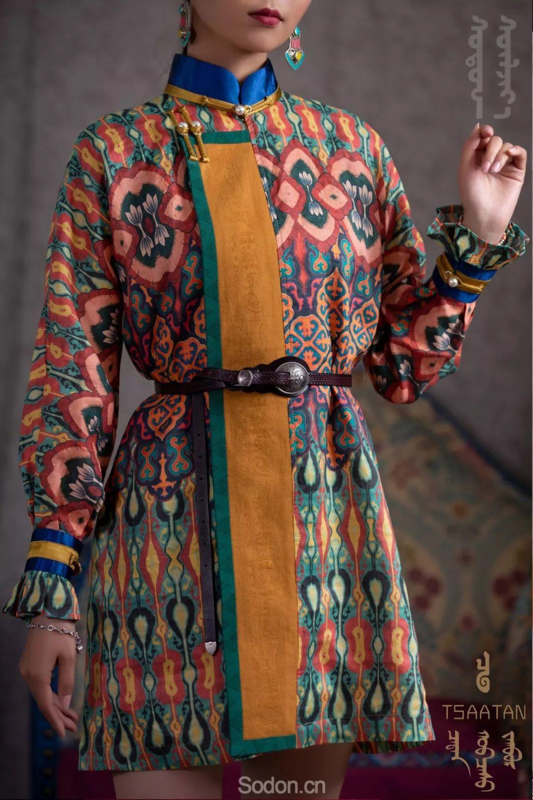 TSAATAN蒙古时装秋冬系列,来自驯鹿人的独特魅力! 第35张 TSAATAN蒙古时装秋冬系列,来自驯鹿人的独特魅力! 蒙古服饰