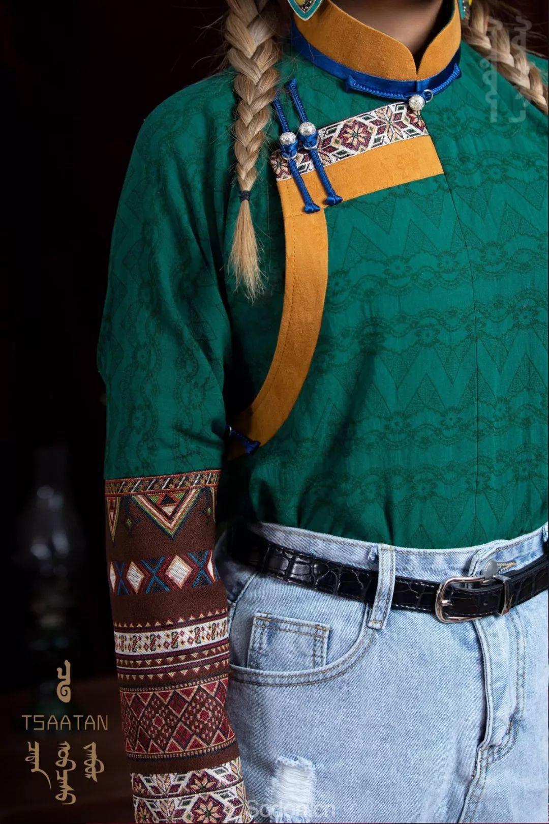 TSAATAN蒙古时装秋冬系列,来自驯鹿人的独特魅力! 第38张 TSAATAN蒙古时装秋冬系列,来自驯鹿人的独特魅力! 蒙古服饰