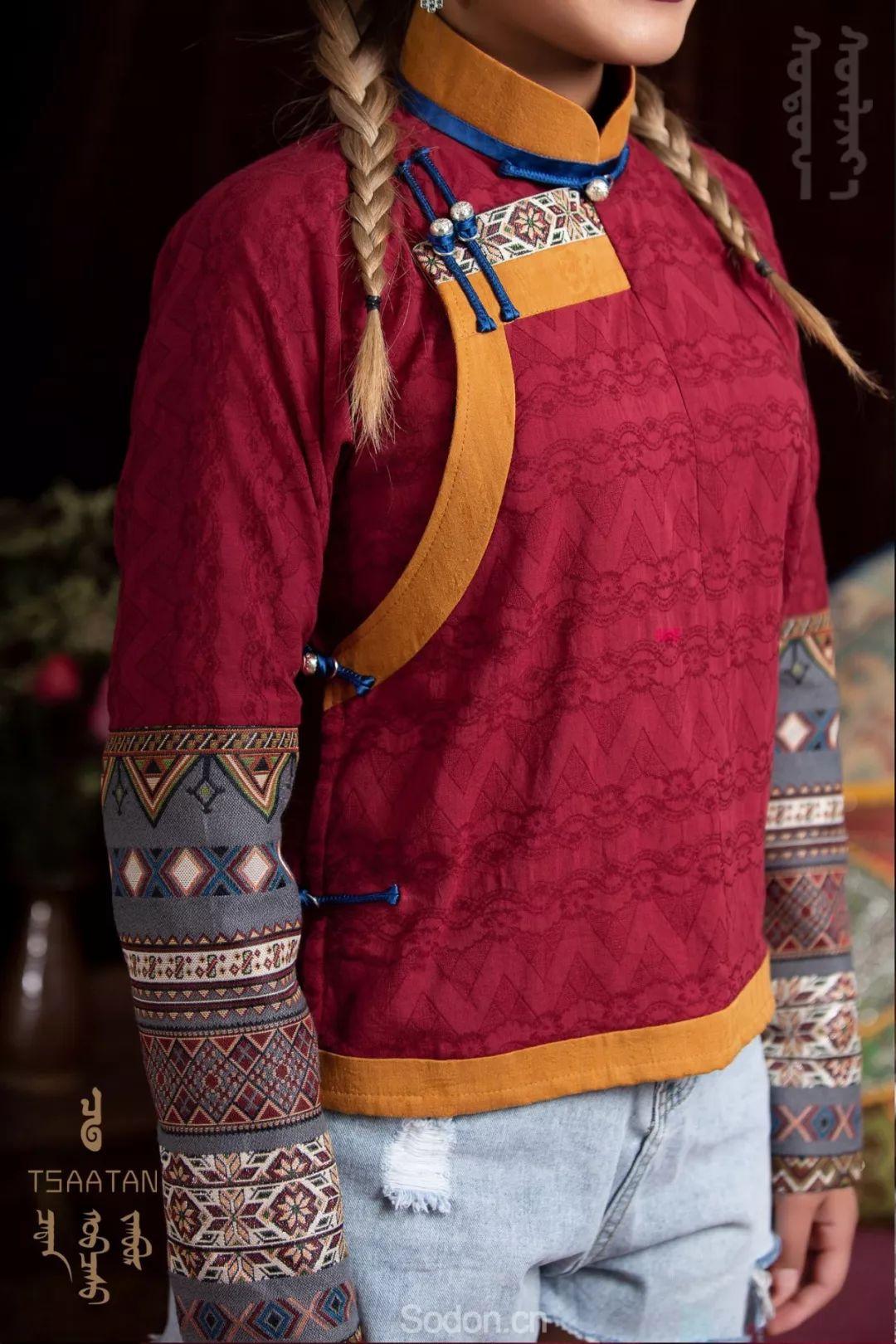 TSAATAN蒙古时装秋冬系列,来自驯鹿人的独特魅力! 第40张 TSAATAN蒙古时装秋冬系列,来自驯鹿人的独特魅力! 蒙古服饰