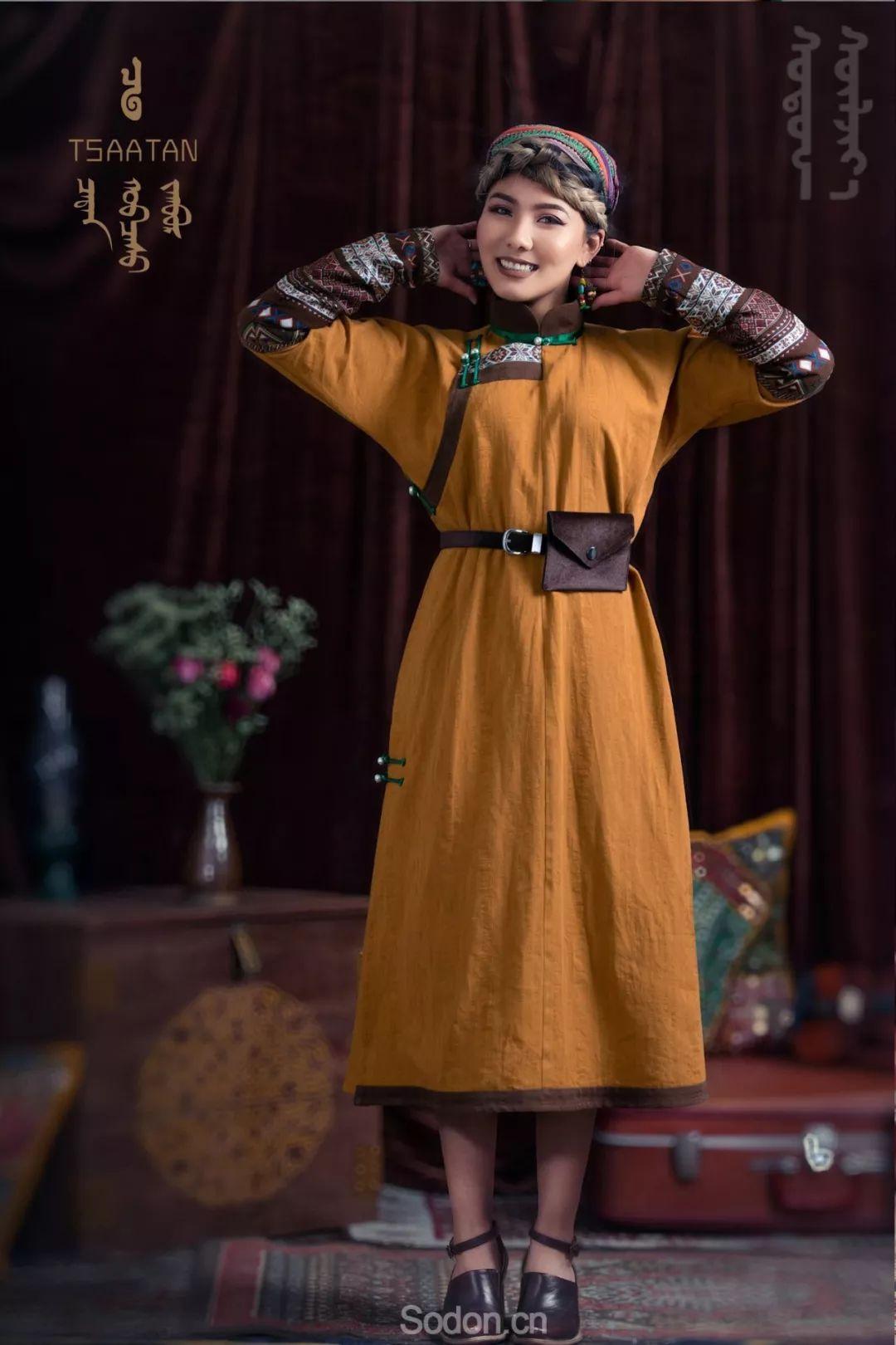 TSAATAN蒙古时装秋冬系列,来自驯鹿人的独特魅力! 第56张 TSAATAN蒙古时装秋冬系列,来自驯鹿人的独特魅力! 蒙古服饰