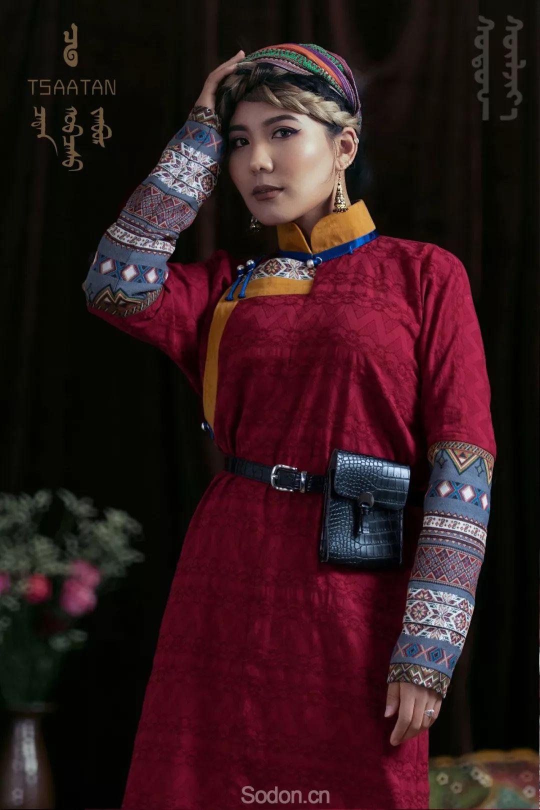 TSAATAN蒙古时装秋冬系列,来自驯鹿人的独特魅力! 第59张 TSAATAN蒙古时装秋冬系列,来自驯鹿人的独特魅力! 蒙古服饰