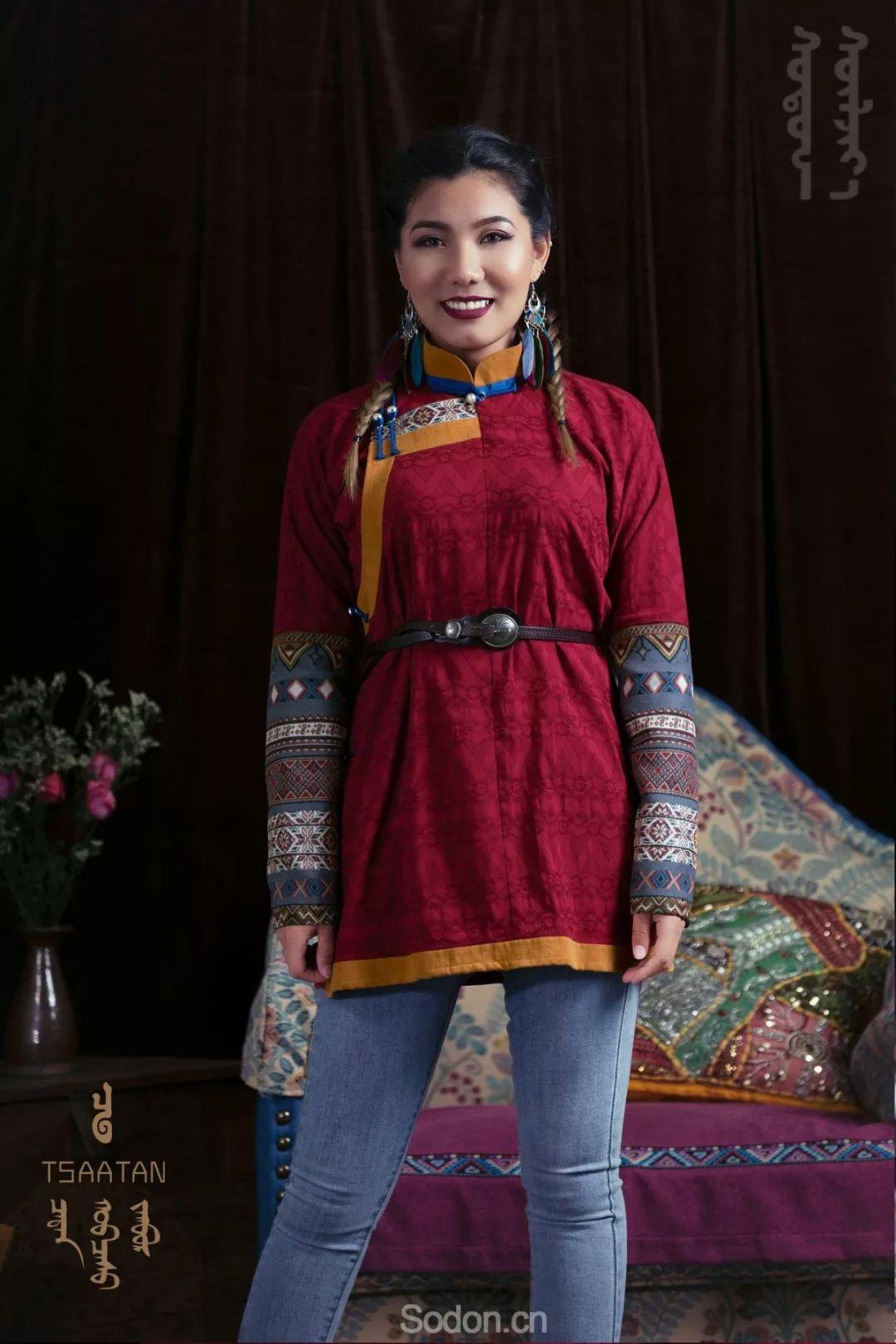 TSAATAN蒙古时装秋冬系列,来自驯鹿人的独特魅力! 第68张 TSAATAN蒙古时装秋冬系列,来自驯鹿人的独特魅力! 蒙古服饰