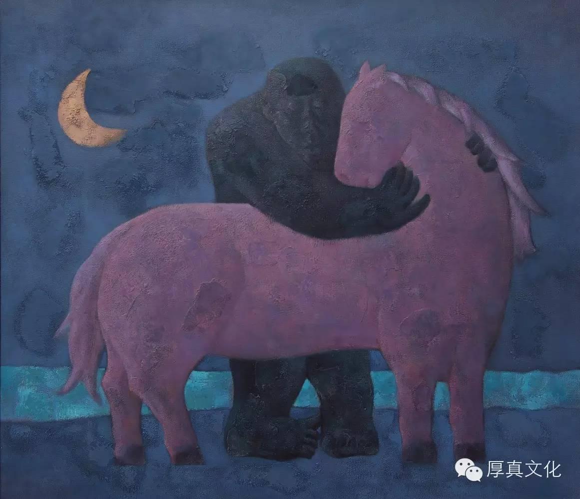 【蒙古人】画家——格日乐图 第2张 【蒙古人】画家——格日乐图 蒙古画廊