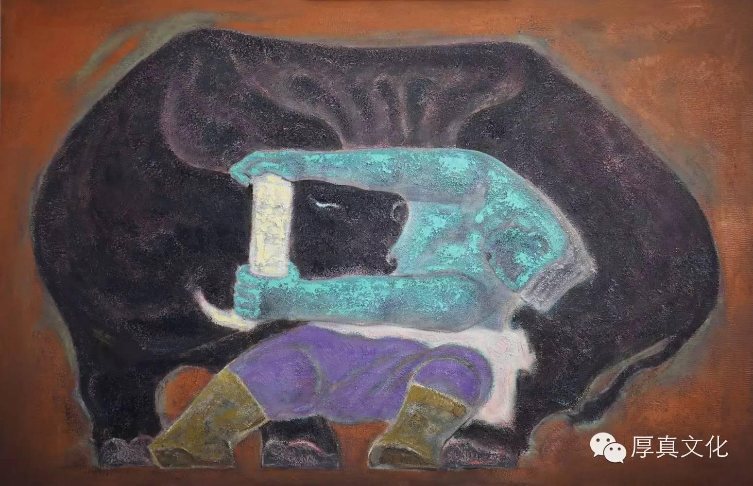 【蒙古人】画家——格日乐图 第6张 【蒙古人】画家——格日乐图 蒙古画廊