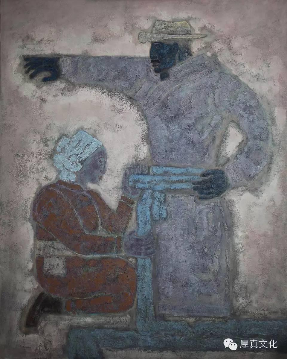 【蒙古人】画家——格日乐图 第11张 【蒙古人】画家——格日乐图 蒙古画廊
