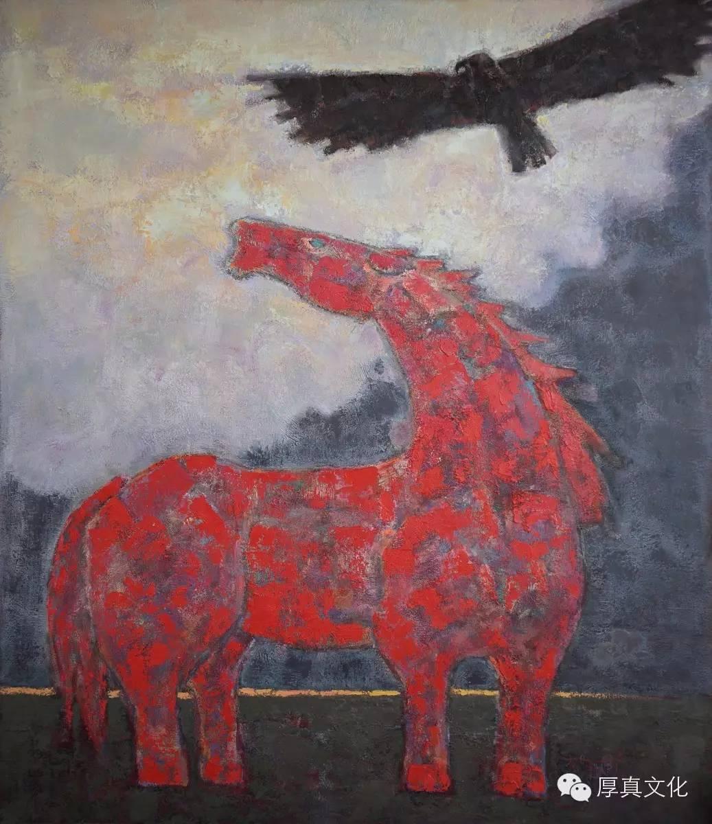 【蒙古人】画家——格日乐图 第9张 【蒙古人】画家——格日乐图 蒙古画廊