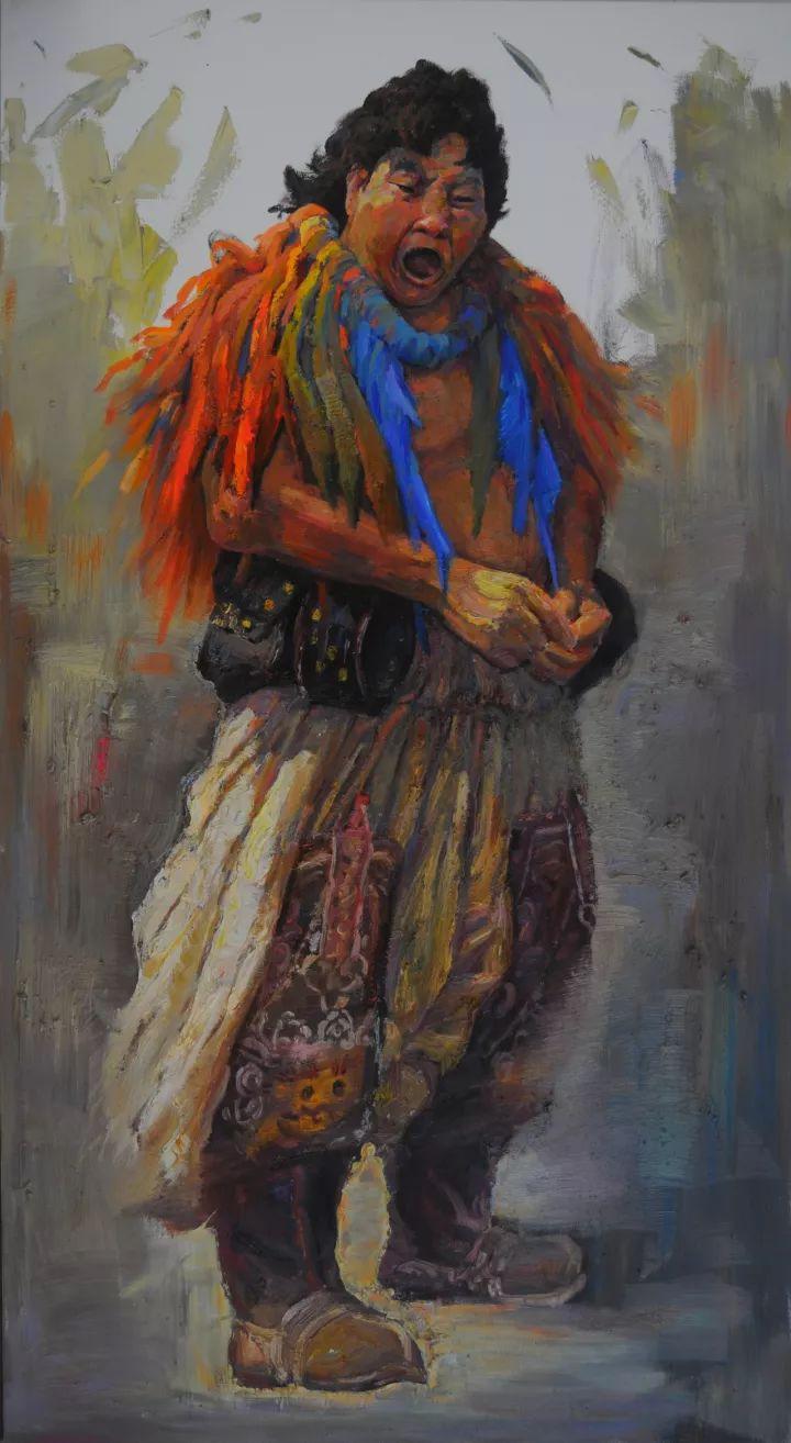 【蒙古图片】这位蒙古族画家,用油画记录蒙古的风土人情,美醉了! 第3张