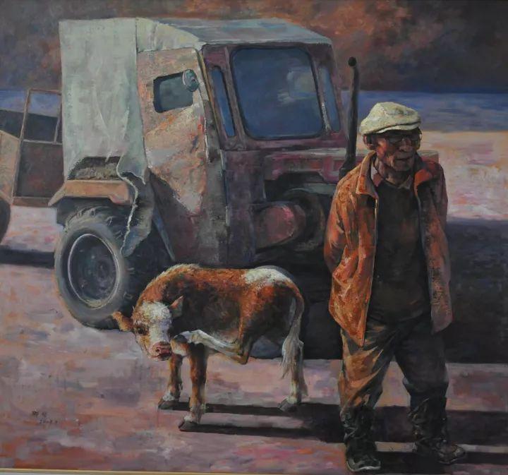 【蒙古图片】这位蒙古族画家,用油画记录蒙古的风土人情,美醉了! 第4张