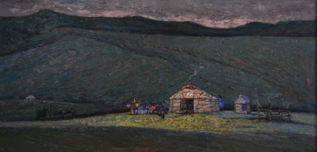 【蒙古图片】这位蒙古族画家,用油画记录蒙古的风土人情,美醉了! 第33张